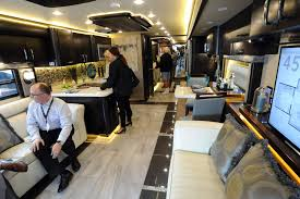Sleek New Motor Coaches On Display At Tampa RV Show