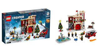 10263 Winter Village Fire Station Is Your 2018 Seasonal Christmas ... Lego City Ugniagesi Automobilis Su Kopiomis 60107 Varlelt Ideas Product Ideas Realistic Fire Truck Fire Truck Engine Rescue Red Ladder Speed Champions Custom Engine Fire Truck In Responding Videos Light Sound Myer Online Lego 4208 Forest Chelsea Ldon Gumtree 7239 Toys Games On Carousell 60061 Airport Other Station Buy South Africa Takealotcom