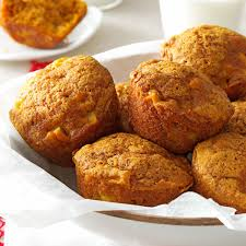 Cake Mix And Pumpkin Muffins by Pumpkin Muffins Taste Of Home