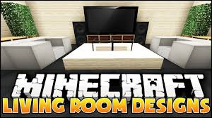 Minecraft Bedroom Decor Ideas by Minecraft Living Room Designs U0026 Ideas Youtube