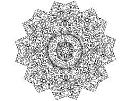 Intricate Coloring Pages Printable Archives And