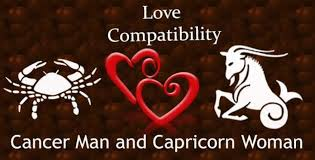 cancer man and capricorn woman love compatibility