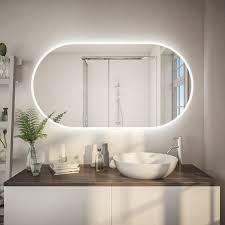 badezimmerspiegel abgerundet f597l4k