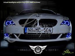 04 07 BMW 6 Series LED Dual Color Halo Rings Headlights Bulbs