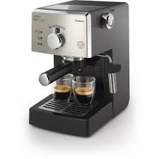 Saeco Offer The Best HD8325 47 Poemia Class Manual Espresso Machine Black