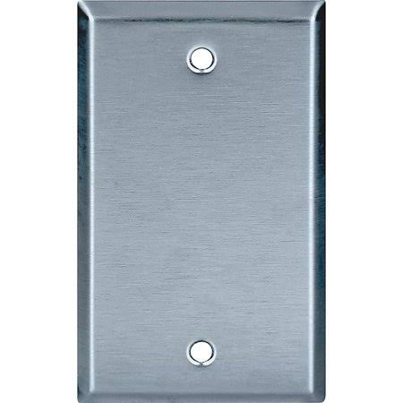 Eaton Cooper Wiring Arrow Hart 93151-BOX Wallplate - 1 Gang, Stainless Steel