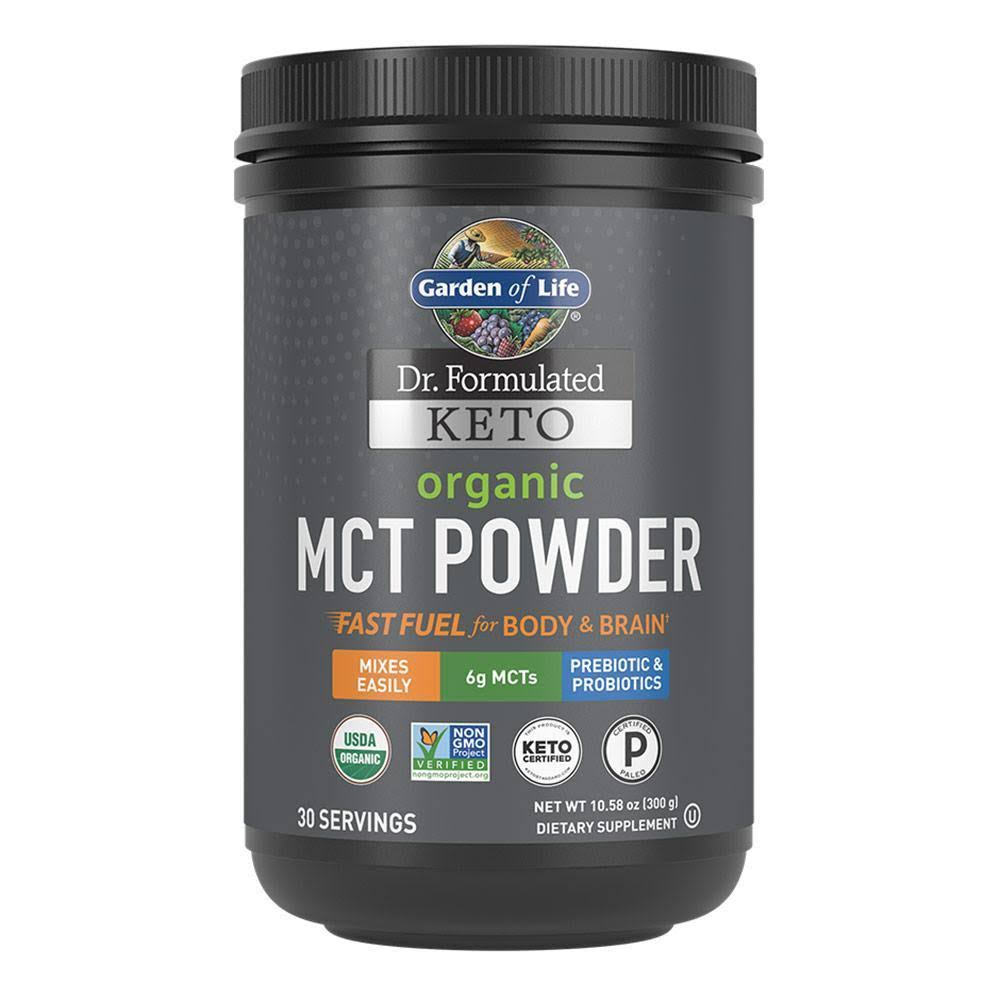 Garden of Life Keto Organic MCT Powder Supplement - 10.58oz