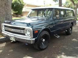 100 Chevy Truck 1970 Rare 3 Door Classic Truck Suburban Good Condition