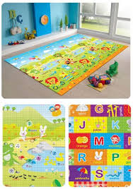 Amazon MyLine Baby PlayMat Yellow Extra Thick Early