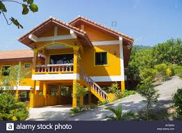 100 Pictures Of Modern Homes New Home Family House Modern Homes At Thailand Stock Photo