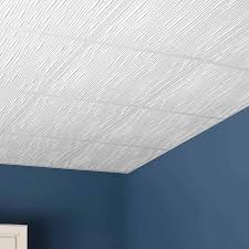 genesis ceiling tile 2x2 drifts tile in white