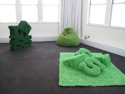 Chenille Carpet by Barbara Gallucci Sculpture And Installation