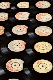 Vinyl Record Background Free Stock Photo