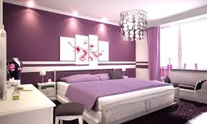 purple bedroom wall ideas light grey wall paint staircase