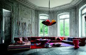 100 Missoni Sofa Roche Bobois MAH JONG Modular Upholstered In