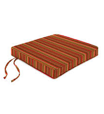 Deluxe Sunbrella Tapered Rocker Seat Cushion With Ties 21 ...