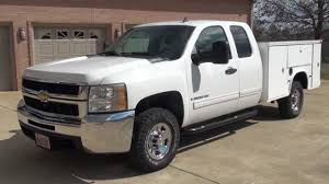 HD VIDEO 2009 CHEVROLET SILVERADO 2500 HD UTILITY BED 4X4 DURAMAX ...