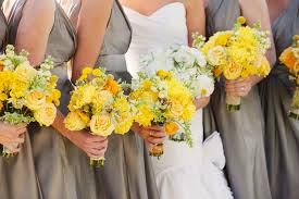 Awesome Yellow And Gray Wedding Ideas