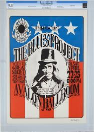 CGC Is Accepting Submissions From Five Of The Most Highly Coveted Vintage Poster Series Including Bill Graham Family DogGrande Ballroom Neon Rose And