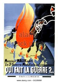 Poster Of The Movement Peace And Liberty Anticommunist Antisoviet Propaganda During Cold