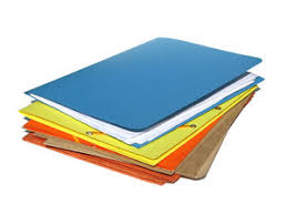 Paperwork Adminstration Business Colorful Files Folders Office Paper Papers Pile Work