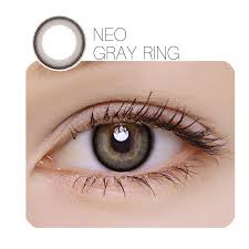 NEO Gray Ring Prescription 12 Month Contact Lenses StunningLens