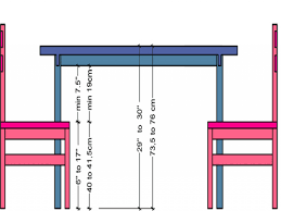 standard dining room chair height and table standard dining room