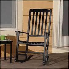 Amazon Mainstays Outdoor Rocking Chair Black Garden & Outdoor
