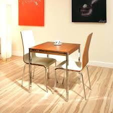 Narrow Dining Room Tables Compact Table 2 Chair Set Elegant Seat And