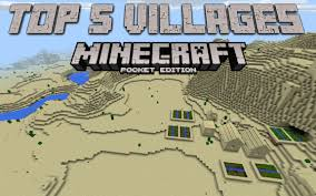 Minecraft Pumpkin Seeds Pe by Top 5 Mcpe Village Seeds 0 13 Minecraft Pe 0 13 1 Mcpe Seeds