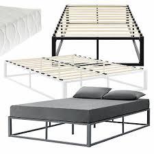 beds mattresses en casa metallbett 140x200cm weiß mit