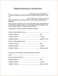 Child Medical Consent Form Ohio