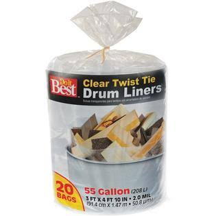 Presto Products CL Drum Liner - 55gal, 20ct