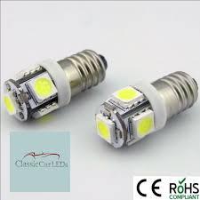 6v led l e10 6 volt xenon white bicycle torch no polarity