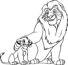 62 Disney Coloring Pages Lion King