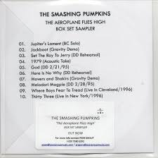Smashing Pumpkins Rarities And B Sides Cd by The Aeroplane Flies High Box Set Sampler Spfreaks