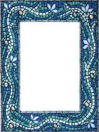 Blue Mosaic Bathroom Mirror by Mosaic Mirror Square Accent Mirror Teal Blue Green Gray 100 Cad