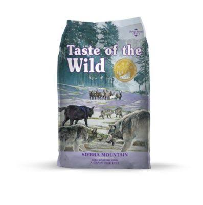 Taste of The Wild Sierra Mountain Dry Dog Food - 28-lb