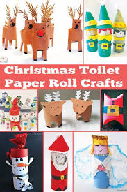 Christmas Toilet Paper Roll Crafts