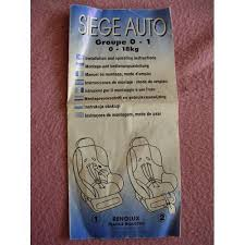 notice siege auto baby go 7 baby go 7 siege auto notice voiture auto garage