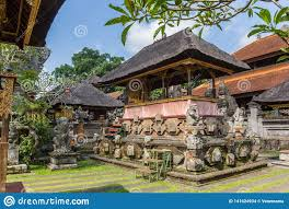 100 Ubud Garden Temple And Of The Palace Stock Photo Image Of