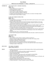 Art Instructor Resume Samples | Velvet Jobs Resume Excellent Teacher Resume Art Teacher Examples Sample Secondary Art Examples Best Rumes Template Free Editable Templates Ideaschers If You Are Seeking A Job As An One Of The To Inspire 39 Pin By Shaina Wright On Jobs Mplate Arts Samples Velvet Language S Of Visual Koolgadgetz Elementary Beautiful Master Professional