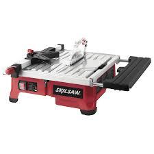 shop skil 7 in slide tile saw at lowes