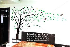 Wall Paintings For Bedroom Graphics Tree Painting On Art Master