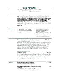 Resume Of A Teacher Elementary Teacher Resume Elementary Teacher