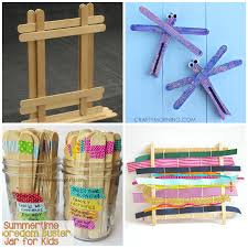 Crafts Made Using Popsicle Sticks