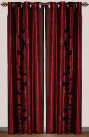 Burgundy Grommet Blackout Curtains by Thank Goodness For Blackout Burgundy Grommet Velvet Blackout