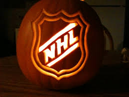 Halloween Ideas For Pumpkins by Diy A Hockey Halloween Hockey Holidays And Hockey Mom