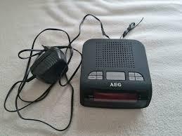 radiowecker aeg kabel und batterie möglich wecker radio uhr