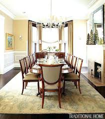 Curtains For Bay Windows In Dining Room Window A Decor